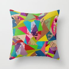 Colorful Thoughts Throw Pillow