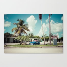 Vintage Motel Canvas Print