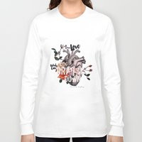 coconutwishes Long Sleeve T-shirts featuring Drag Me Down by Coconut Wishes