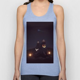 my sun, my moon, and all my stars Unisex Tank Top