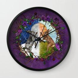 Ostara's Dance Wall Clock