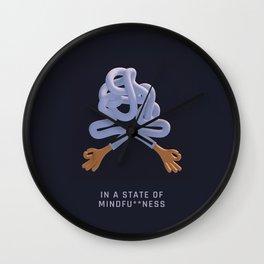 Mindfu**ness Wall Clock