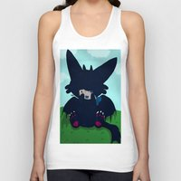 toothless Tank Tops featuring Toothless by DaemonDeDevil