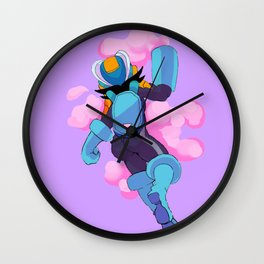 MEGAMAN BATTLE NETWORK Wall Clock