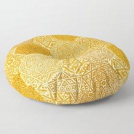 Saffron Souk Floor Pillow