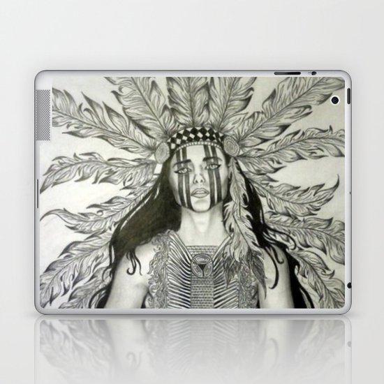 Indian War chief  Laptop & iPad Skin