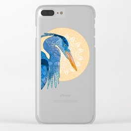 Egret Sun Clear iPhone Case