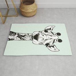 Giraffe Tattooed Rug