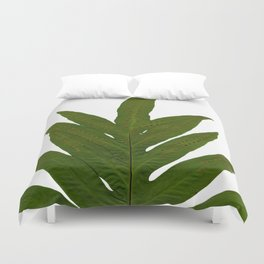 Tropical Fern Botanical Duvet Cover