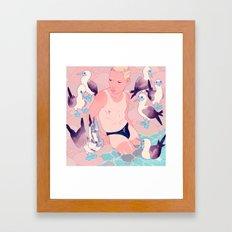 Depletion Framed Art Print