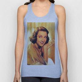 Ethel Merman, Vintage Entertainer Unisex Tank Top