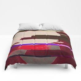Fractures In Red Comforters
