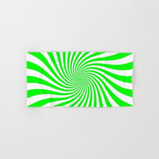 Swirl (Green/White) Hand & Bath Towel