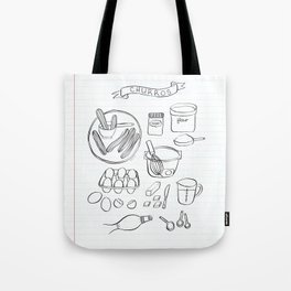 Churros Tote Bag