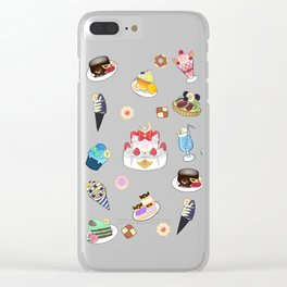 Sailor Senshi Sweets Clear iPhone Case