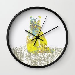The Lonely Bear Wall Clock