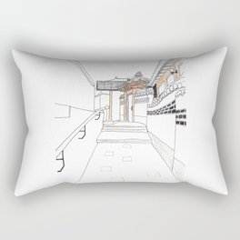 Bukchon in Seoul Rectangular Pillow