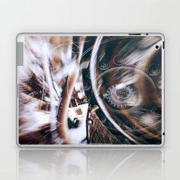 Machine Speed Warp in Blur Laptop & iPad Skin