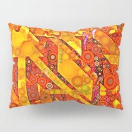 Dots and Diagonals Pillow Sham