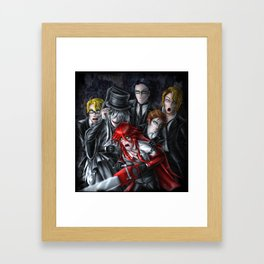Haunted House Reapers Framed Art Print