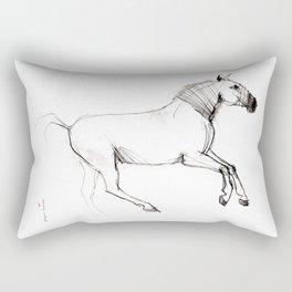 Horse (Lusitano Colt) Rectangular Pillow