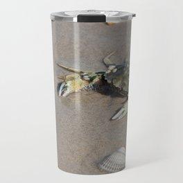 Beach Crab Travel Mug