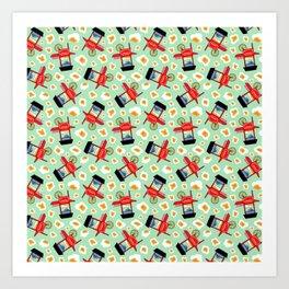 Popcorn Bonanza Art Print