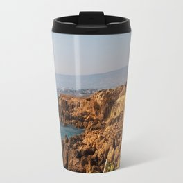 The sea ​​coast Travel Mug