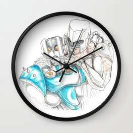 Fix That Frown Wall Clock