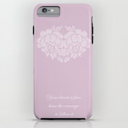 roses heart iPhone Case