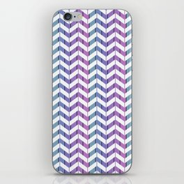 Zigzag striped pattern.2 iPhone Skin