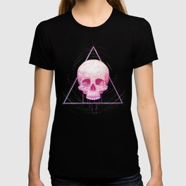 Skull in triangle T-shirt