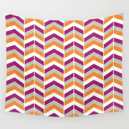 Pretty chevron pattern Wall Tapestry