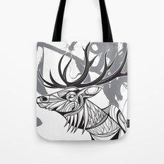 Elk black Tote Bag