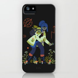 Witch Series: Plants and Herbs iPhone Case