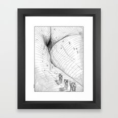 asc 660 - La route des origines (Bab alhaya) Framed Art Print
