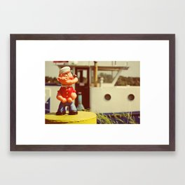 Popeye Framed Art Print