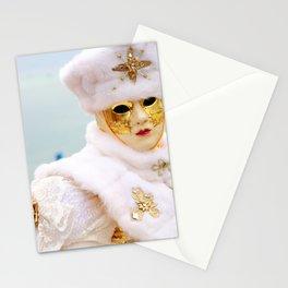 Venetian carnival Stationery Cards