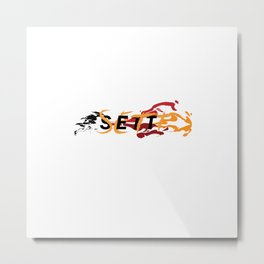League of Legends Sett Punch Metal Print