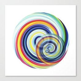 Swirl No. 1 Canvas Print