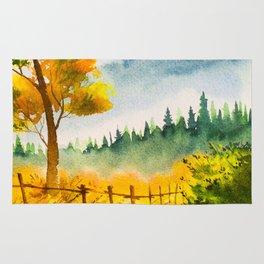 Autumn scenery #19 Rug