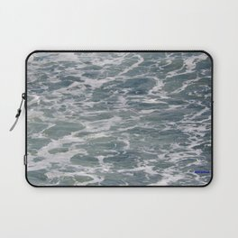 TEXTURES -- Ferry Wake in Puget Sound Laptop Sleeve