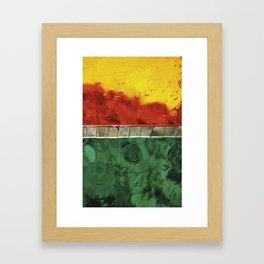Rain drops3 Framed Art Print