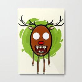Fear at Christmas I. Metal Print