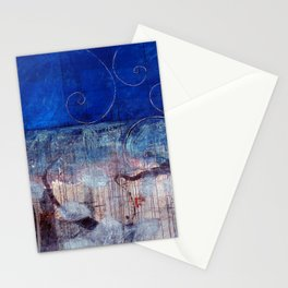 Chicxulub - Bluer version Stationery Cards