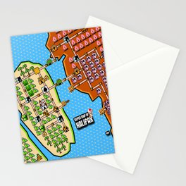 Super Map of Halifax Stationery Cards