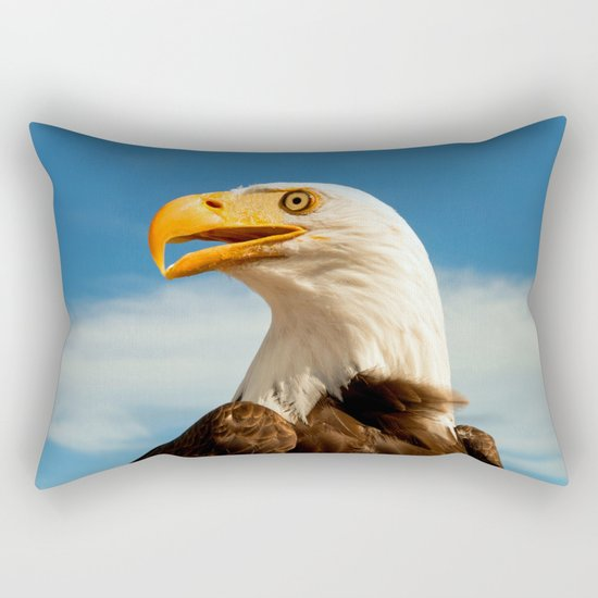 EAGLE EYED Rectangular Pillow