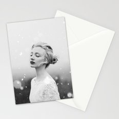 Snowing Stationery Cards