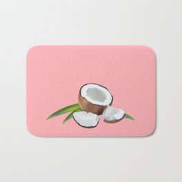 Pink is the new red. Bath Mat