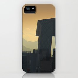Western Sky, Beijing iPhone Case